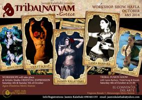 TribalNatyam 2014 poster